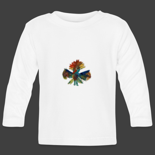 Mayas bird - Baby Long Sleeve T-Shirt