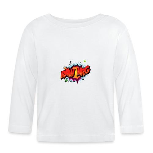 Raw Nrg comic3 - Baby Long Sleeve T-Shirt