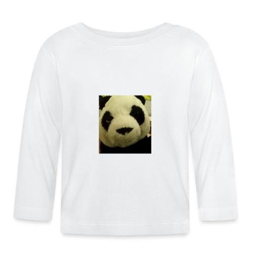 panda - Baby Langarmshirt