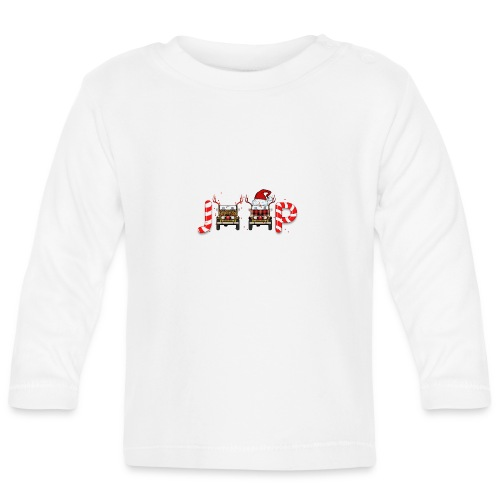 Jeep Christmas - Baby Long Sleeve T-Shirt