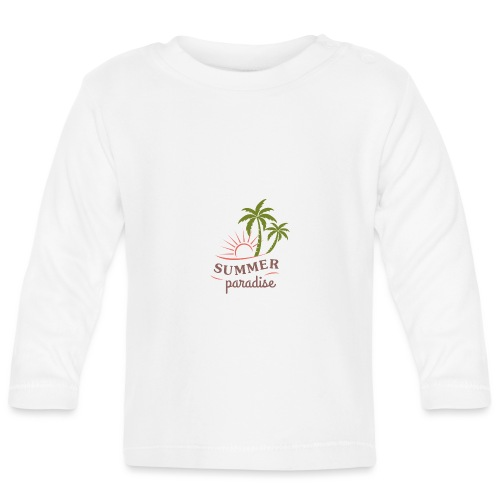 Summer paradise - Baby Long Sleeve T-Shirt