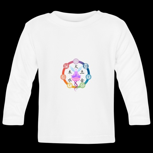 armonia delle energie all colors - Maglietta a manica lunga per bambini
