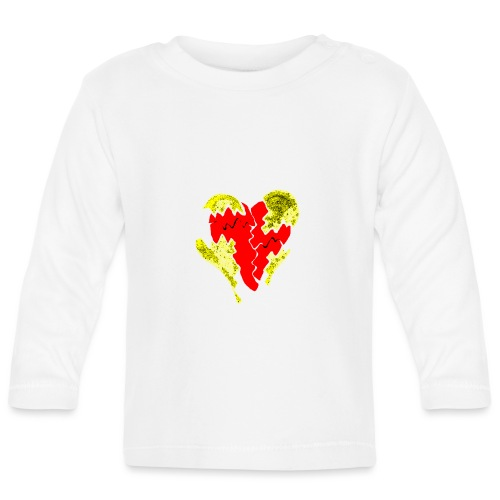 peeled heart (I saw) - Baby Long Sleeve T-Shirt