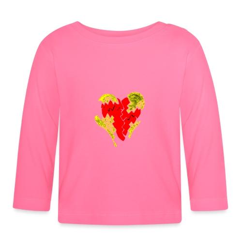 peeled heart (I saw) - Baby Long Sleeve T-Shirt
