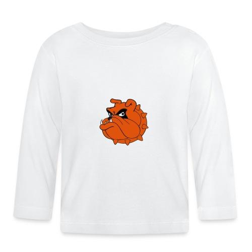 Bulldog Héros Animés - T-shirt manches longues Bébé