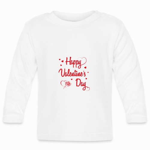 Happy Valentine's Day - Baby Long Sleeve T-Shirt