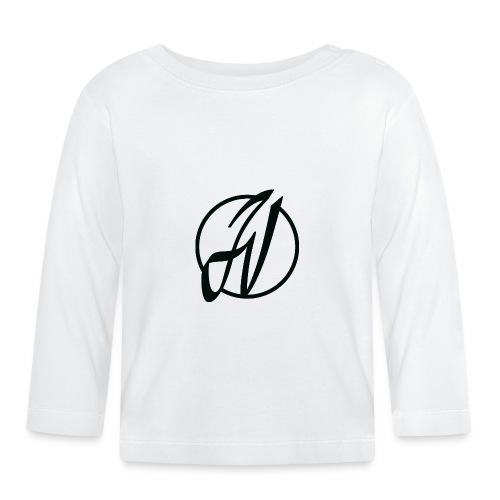 JV Guitars - logo noir - T-shirt manches longues Bébé