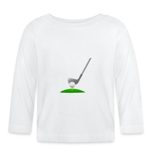Golf Ball PNG - Camiseta manga larga bebé