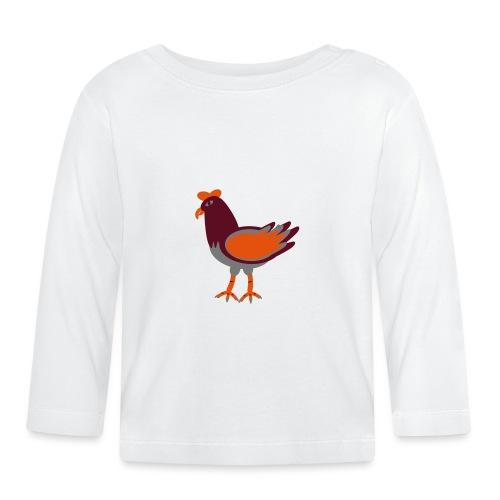 Cock.svg - Maglietta a manica lunga per bambini