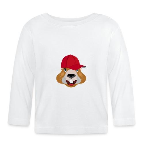 tète marmotte casquette été - T-shirt manches longues Bébé