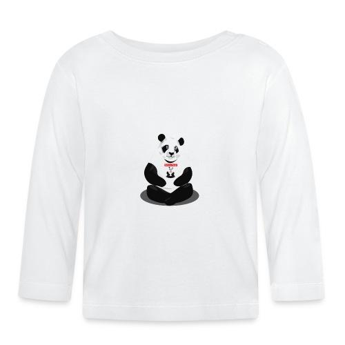 panda hd - T-shirt manches longues Bébé
