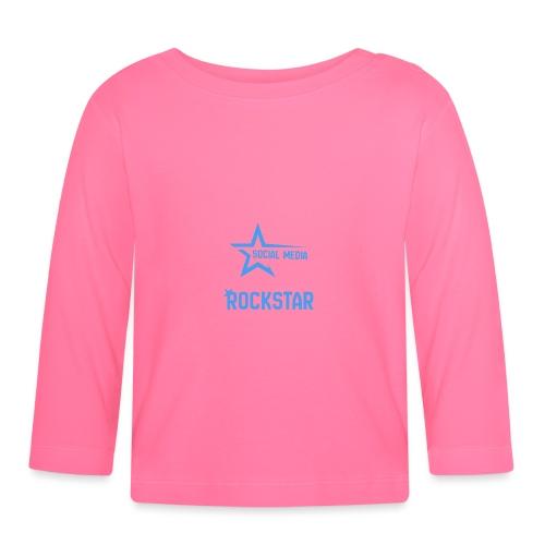Social Media Rockst*r - Baby Langarmshirt