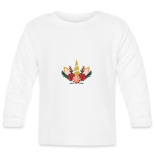 Unicorn Christmas - Baby Long Sleeve T-Shirt