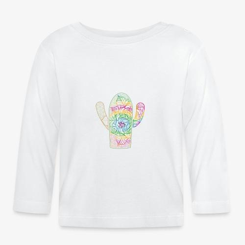 mandala3 - Koszulka niemowlęca z długim rękawem