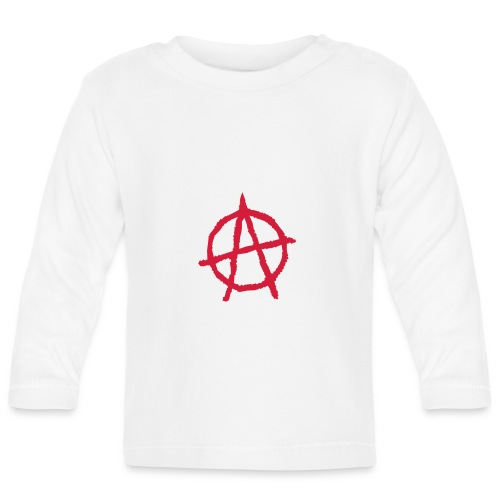 Anarchy Symbol - Baby Long Sleeve T-Shirt
