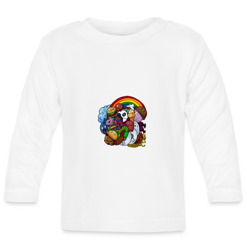 Happy Colors - Baby Langarmshirt