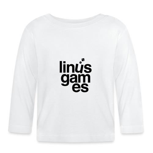 T-shirt uomo Linus Games - Maglietta a manica lunga per bambini