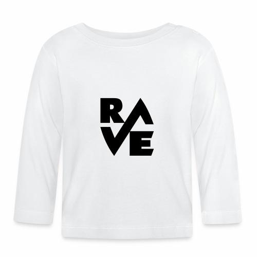 rave - Baby Langarmshirt