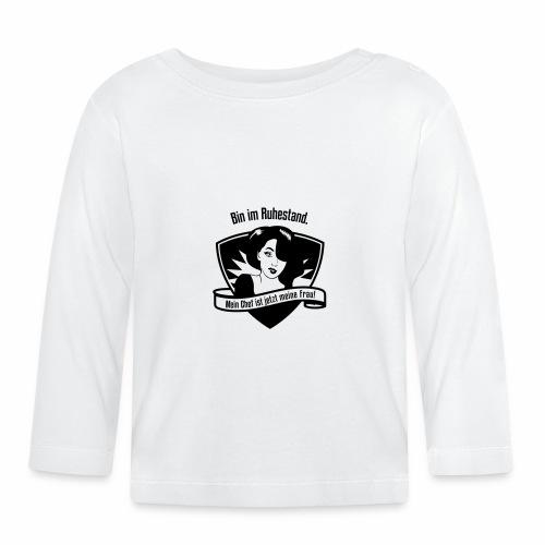 Ruhestand Comic - Baby Langarmshirt