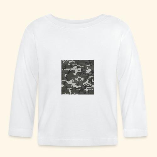 Camouflage militaire - T-shirt manches longues Bébé