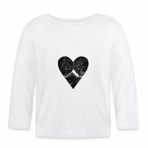 Bergliebe - used / vintage look - Baby Langarmshirt