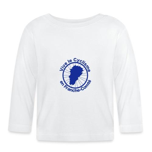 Cyclisme Franche-Comté 2 - T-shirt manches longues Bébé