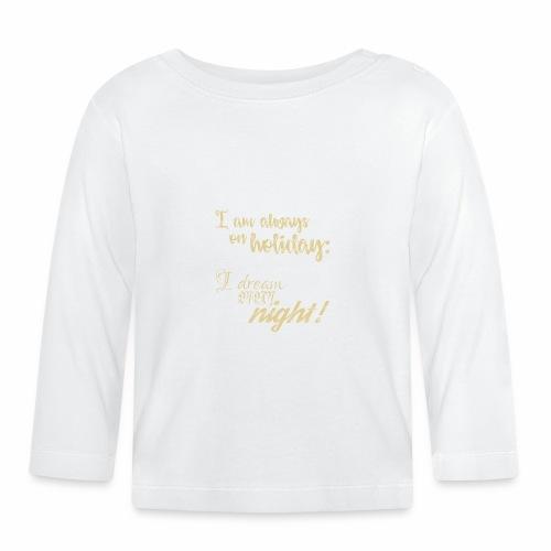 Holiday w/ Dreams & Charm / In Vacanza con Glamour - Maglietta a manica lunga per bambini