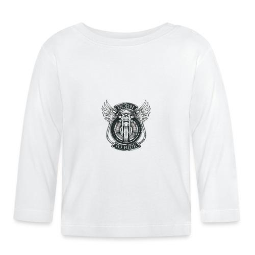 BORN TO RIDE - Camiseta manga larga bebé