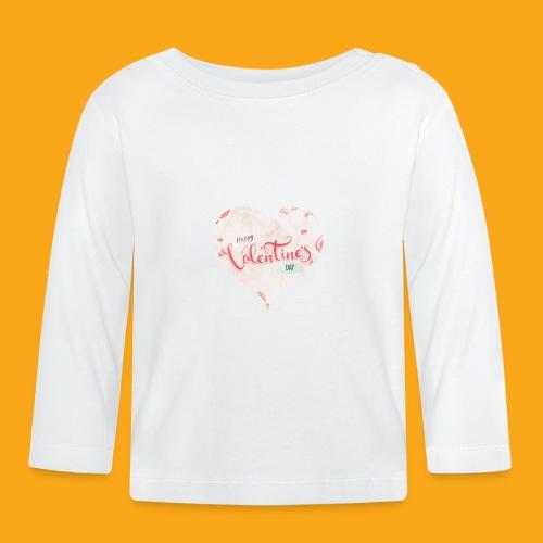 Happy Valentinesday - Baby Langarmshirt