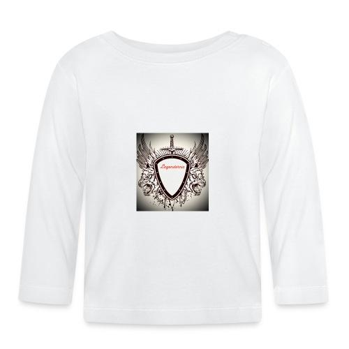 MR AIMs logga - Långärmad T-shirt baby