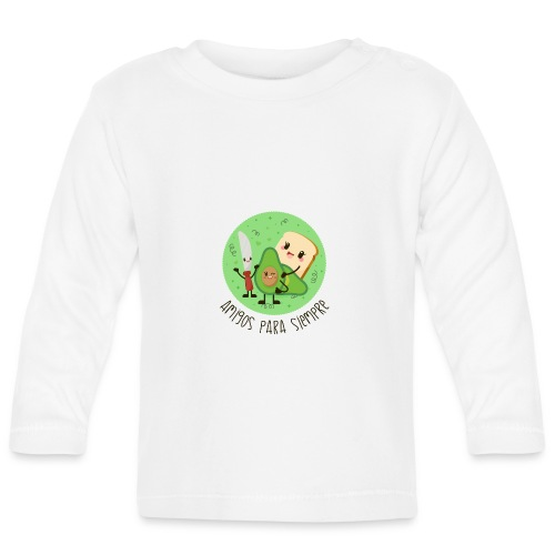 Amigos para siempre - Camiseta manga larga bebé