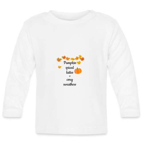 Lattes and Cozy Sweathers - Långärmad T-shirt baby