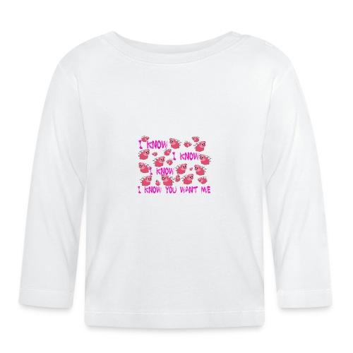SWINE unisex - Camiseta manga larga bebé