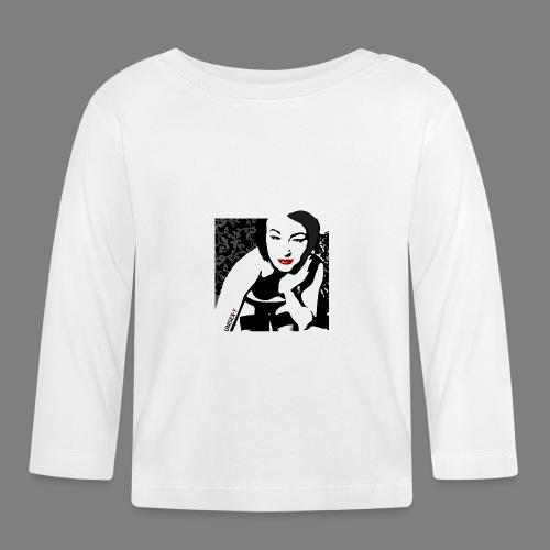 SEXY NATY BLACK BOX - Maglietta a manica lunga per bambini