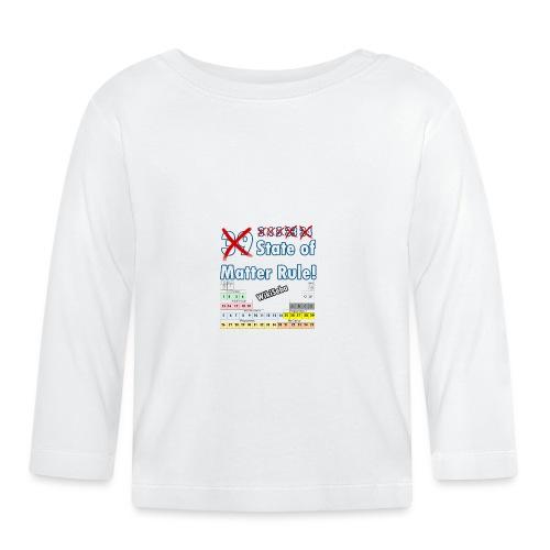 33 Estados de la Materia - Camiseta manga larga bebé
