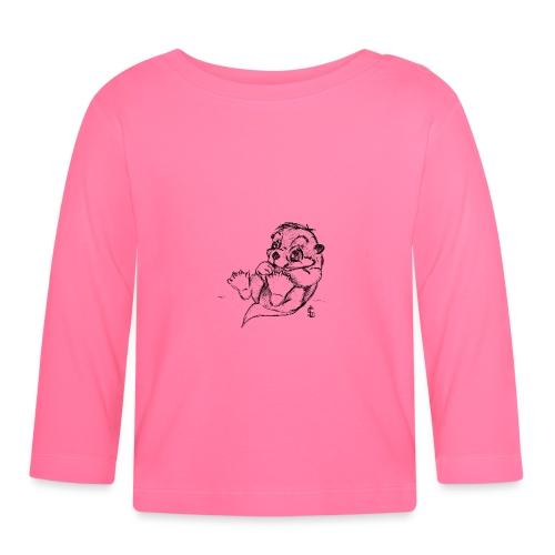 Loutre - T-shirt manches longues Bébé
