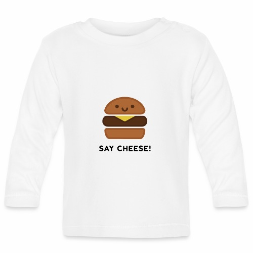 Say Cheese! - Baby Long Sleeve T-Shirt
