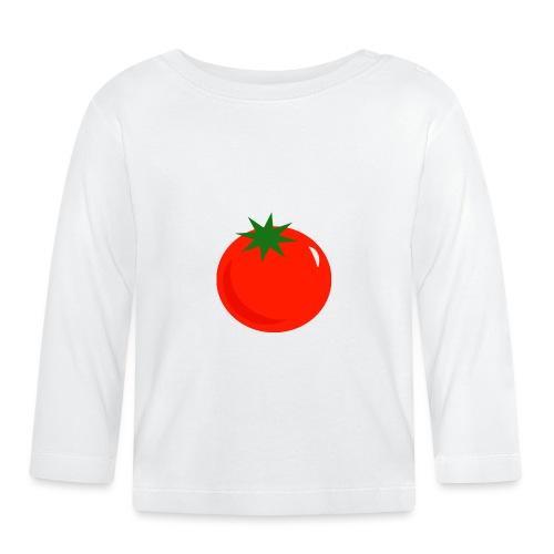 Tomate - Camiseta manga larga bebé