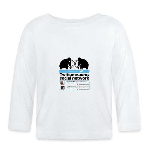 homo sapins versus neandertal - T-shirt manches longues Bébé