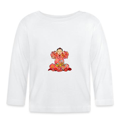 Qigong exercise to treat dizziness - Baby Long Sleeve T-Shirt