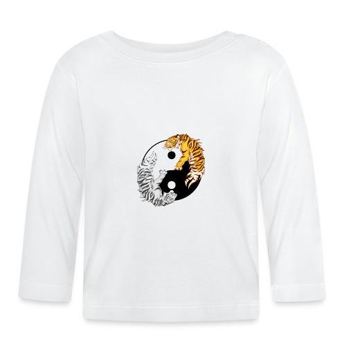 Yin & Yang Tigers - Koszulka niemowlęca z długim rękawem