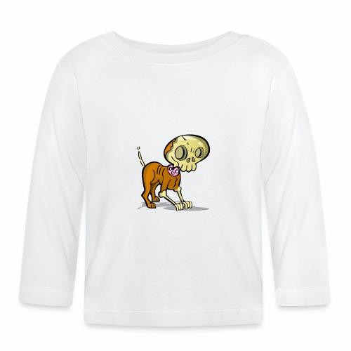 perro zombie - Camiseta manga larga bebé