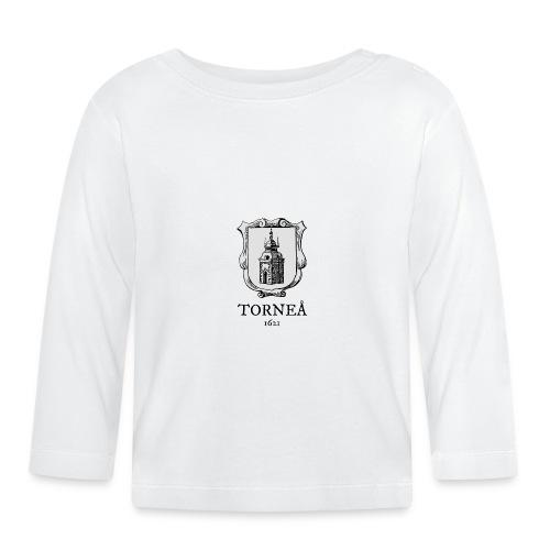 Tornea 1621 harmaa - Vauvan pitkähihainen paita