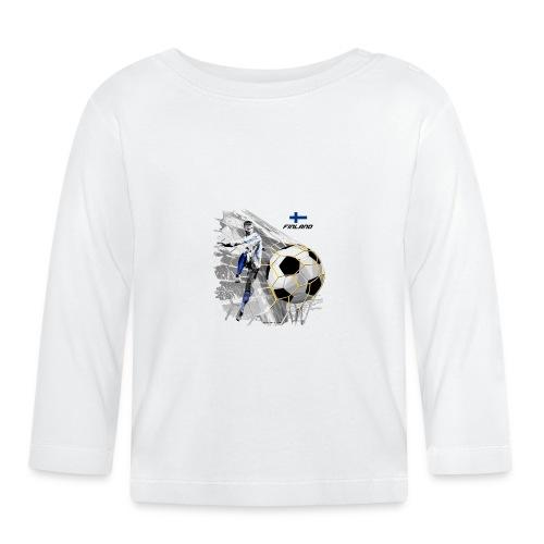 GP22F-05 FINLAND FOOTBALL PRODUCTS - Tuotteet - Vauvan pitkähihainen paita