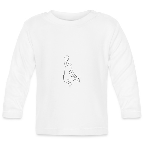 Basketball Move - Baby Langarmshirt