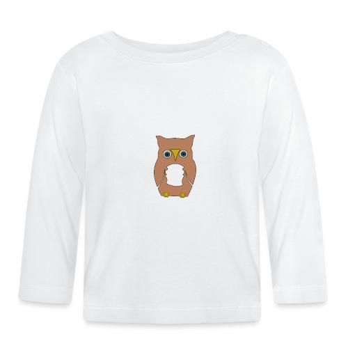 Derpi Owl - Baby Langarmshirt