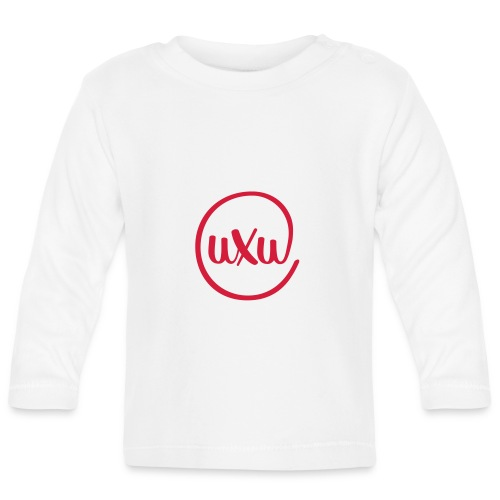 UXU logo round - Baby Long Sleeve T-Shirt