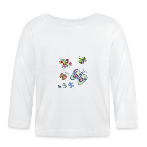 Allegria di farfalle - Maglietta a manica lunga per bambini