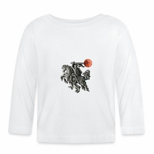Lithuania basketball - Baby Long Sleeve T-Shirt
