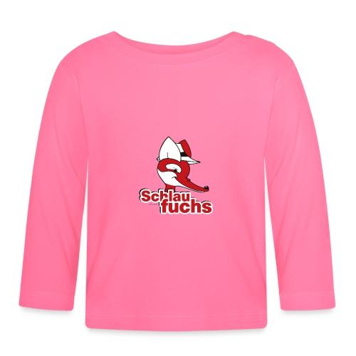 Herr Fuchs Schlaufuchs - Baby Langarmshirt
